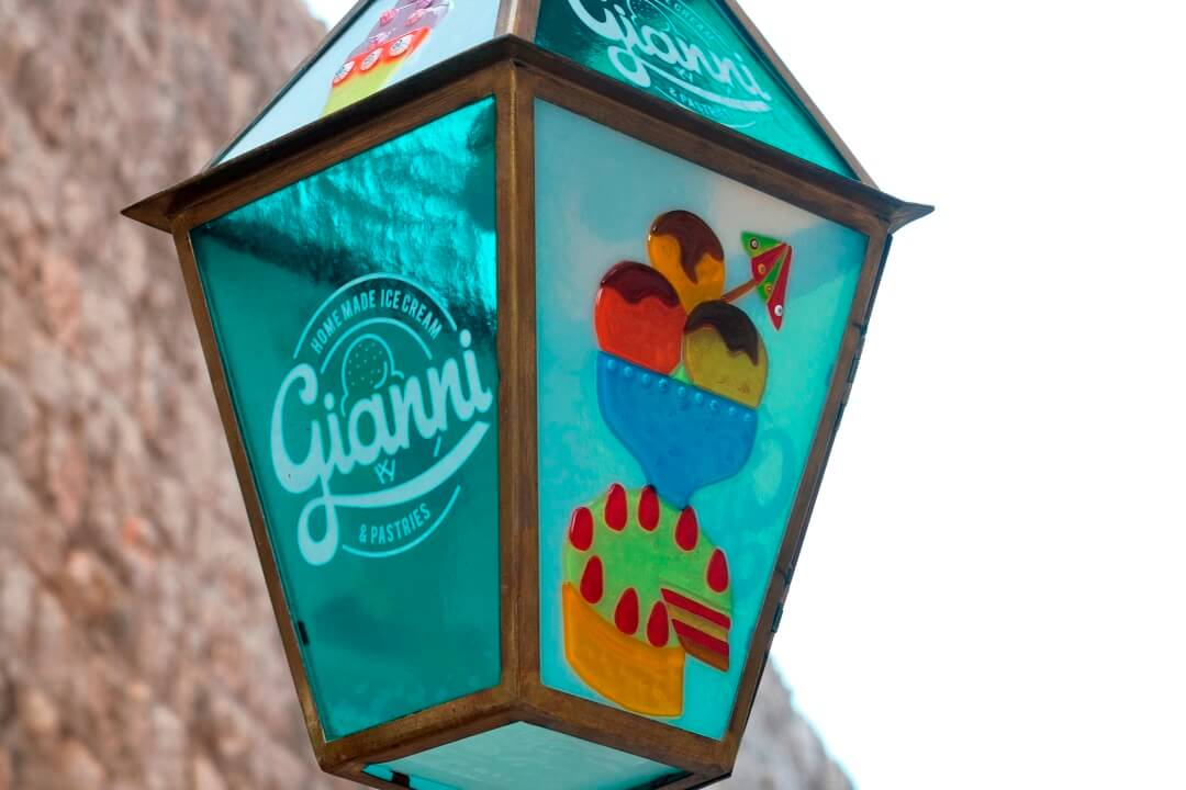 best ice cream in Dubrovnik